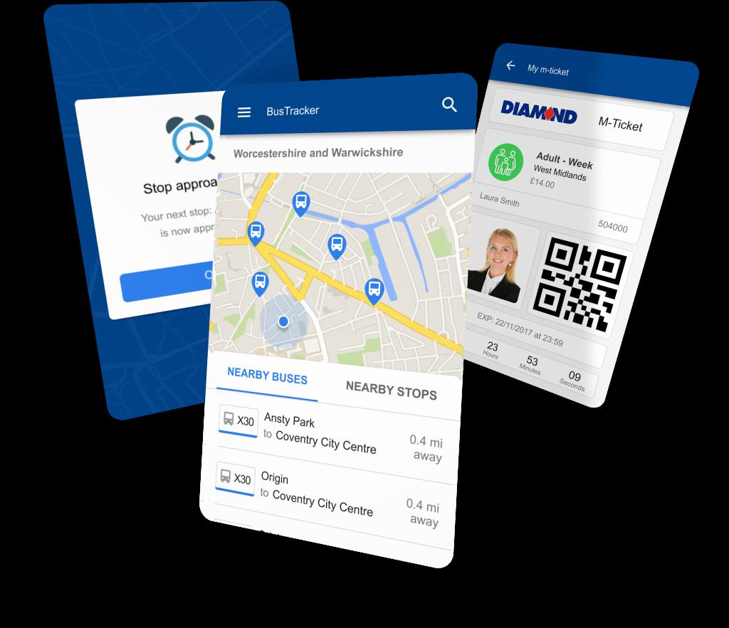 Mobile App   Bushub